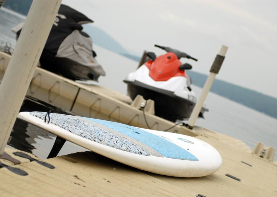Paddle Board and Jet Skis