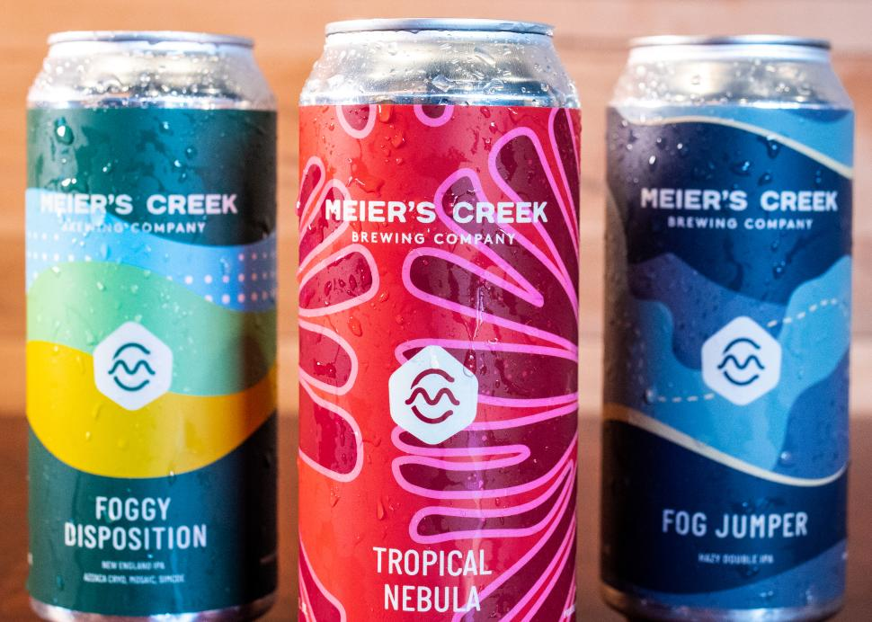 Meier's Creek Beer Cans