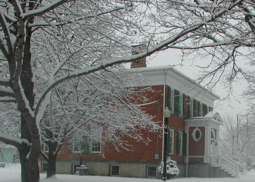 Winter at the Historical Society
