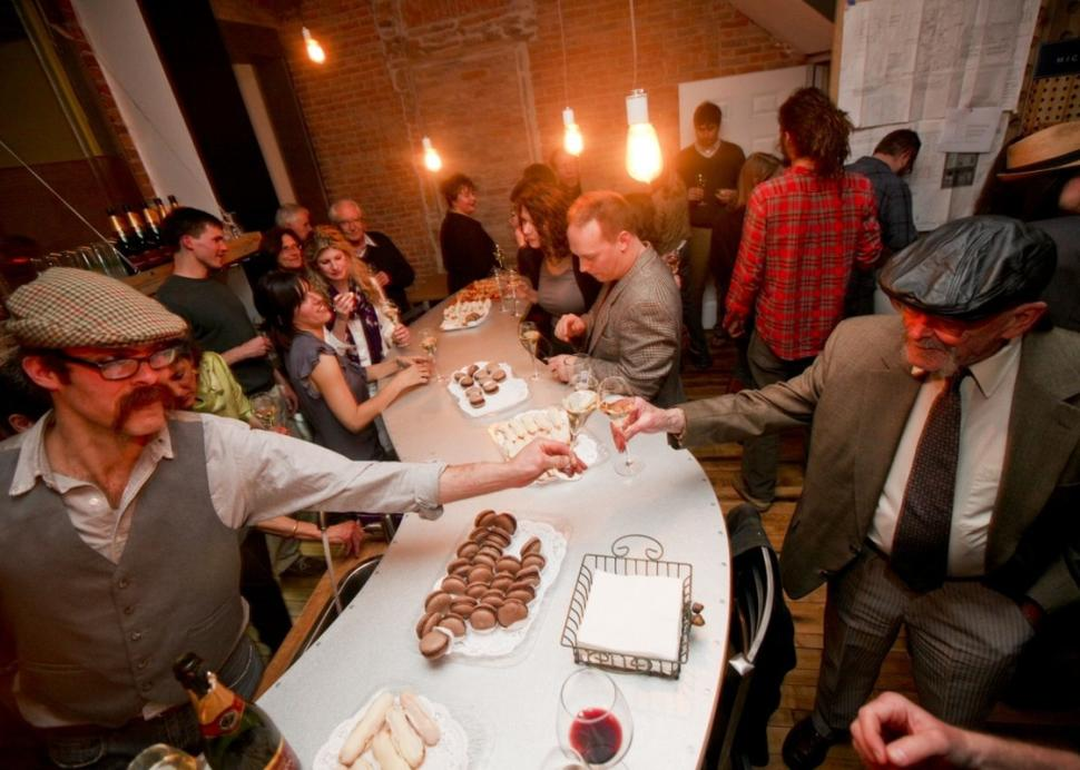The bar at Microclimate