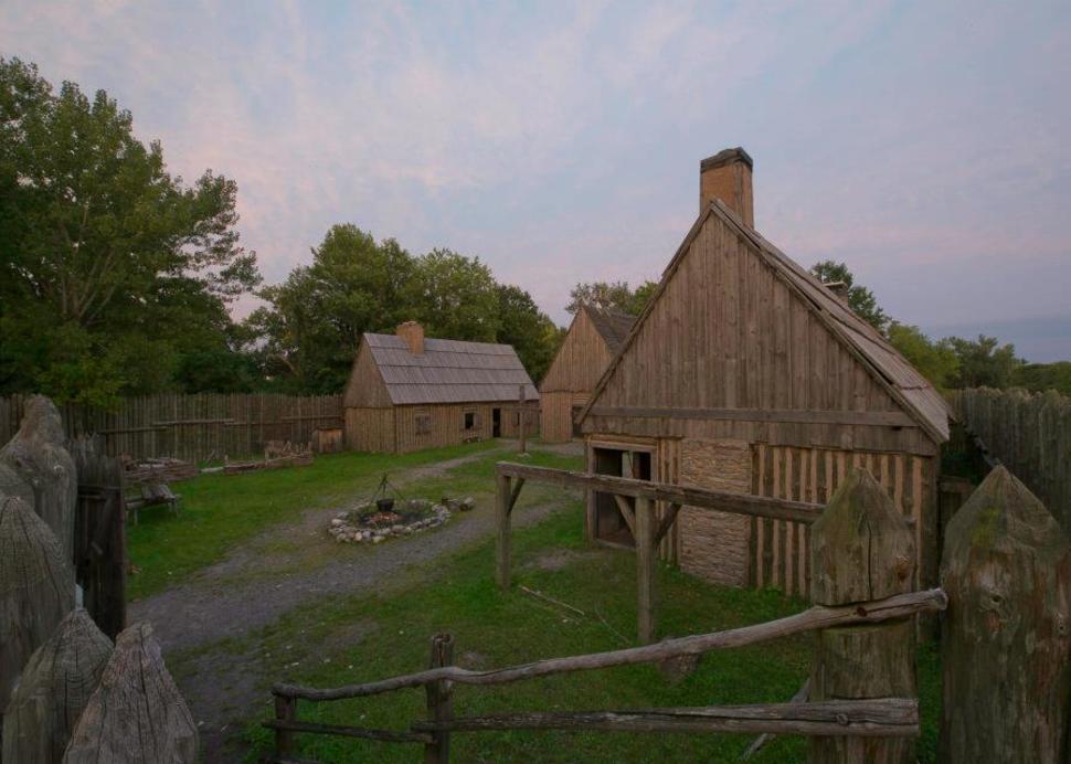 Saint Marie Mission Site, Photo Credit: Onondaga Historical Association