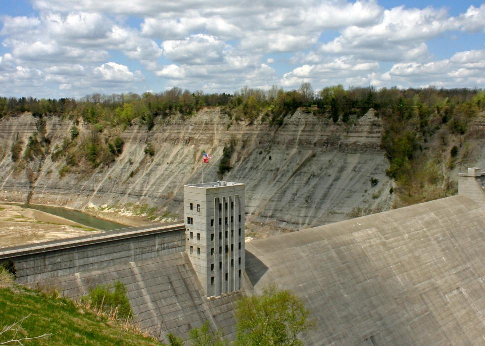 Mount Morris Dam, Photo Credit: Bob Oswald