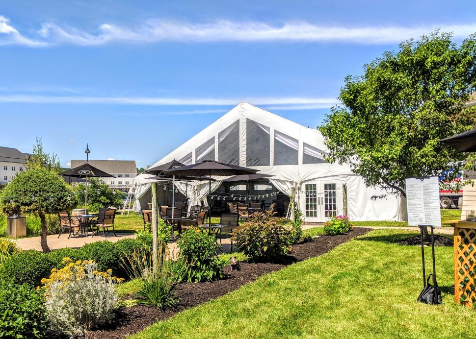 New York Kitchen garden tent