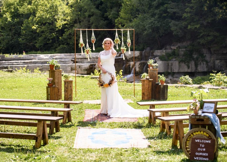 Lower Falls Ceremony
