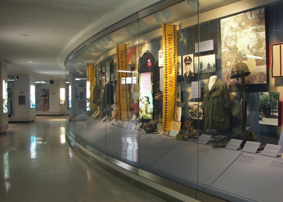 War Memorial Military Exhibit, Photo Credit: Onondaga Historical Association