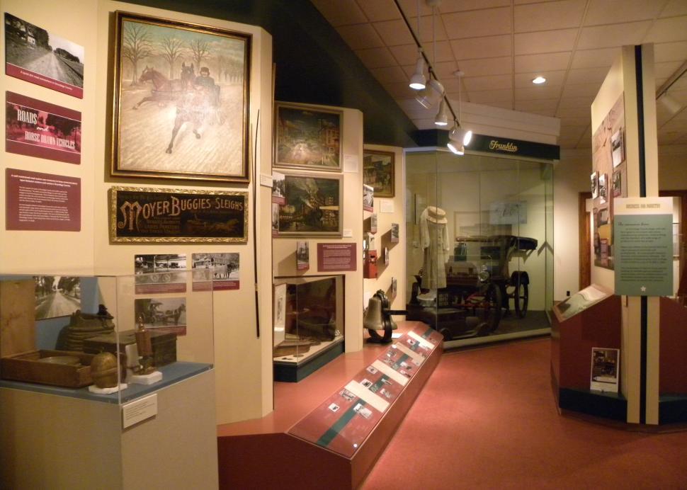 Onondaga Historical Museum Interior , Photo Credit: Onondaga Historical Association
