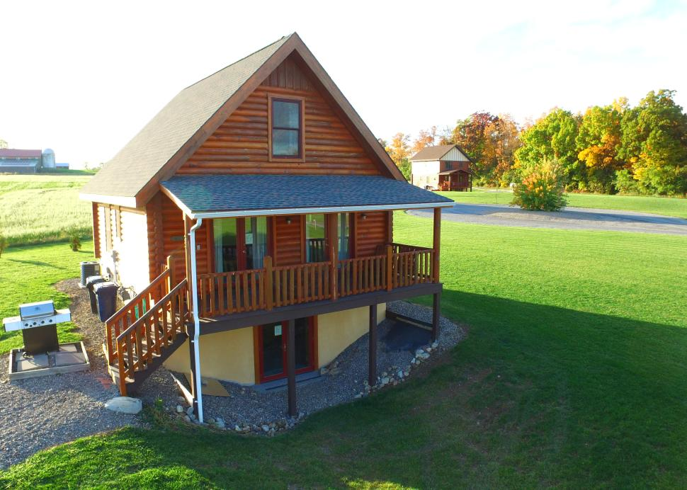 Exterior of the Otisco Cabin owned by Cobtree Vacation Rental Homes