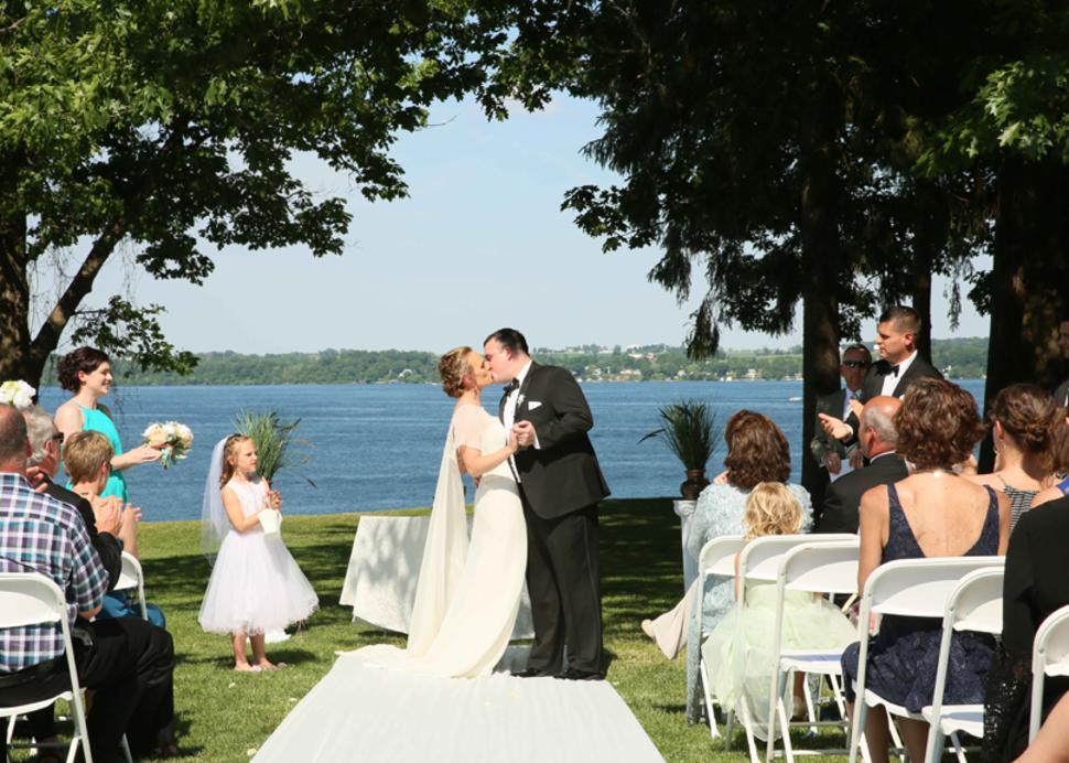 Outdoor Weddings Belhurst Castle