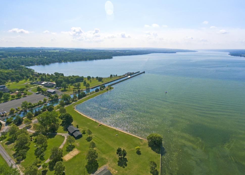 Emerson Park Aerial Shot
