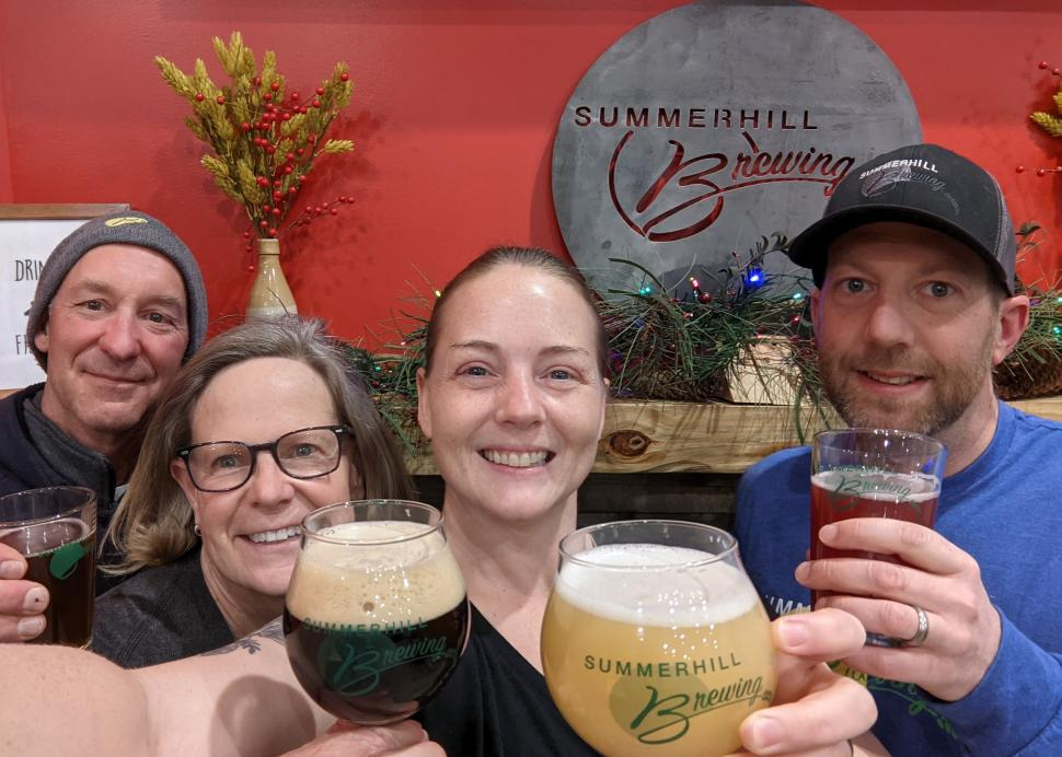 We are Summerhill Brewing!