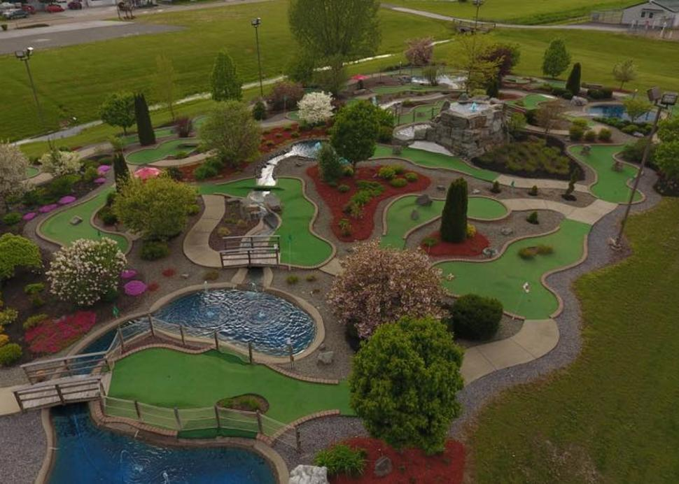 Mini Golf Course at Park Avenue Sports Center