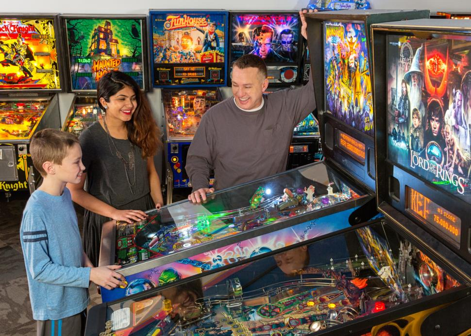 The Strong Pinball Playfields