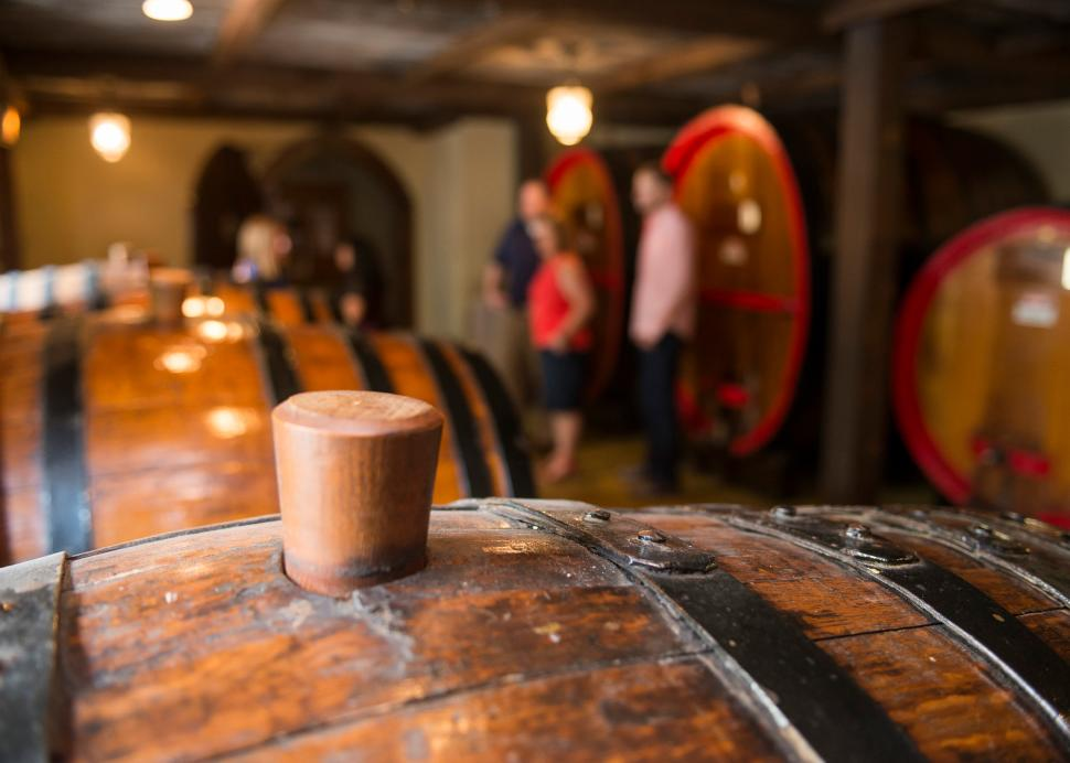 Pleasant Valley Wine Company Wine Cellar