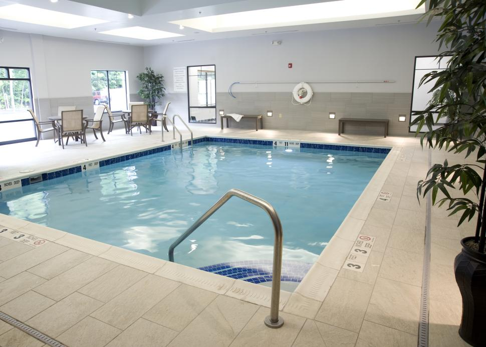 Modern Indoor Heated Pool