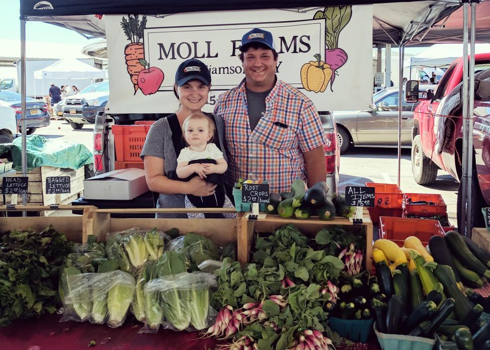 Rochester Public Market; Photo Credit: Evan Lowenstein