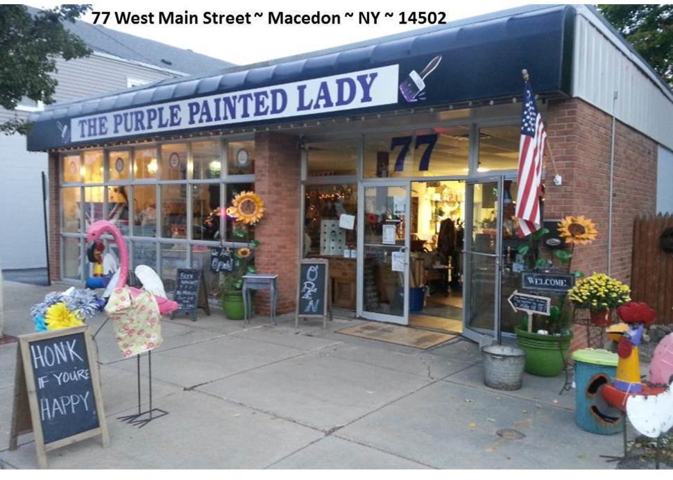 Purple Painted Lady Exterior