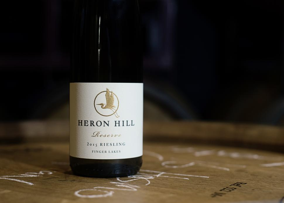Riesling on barrel