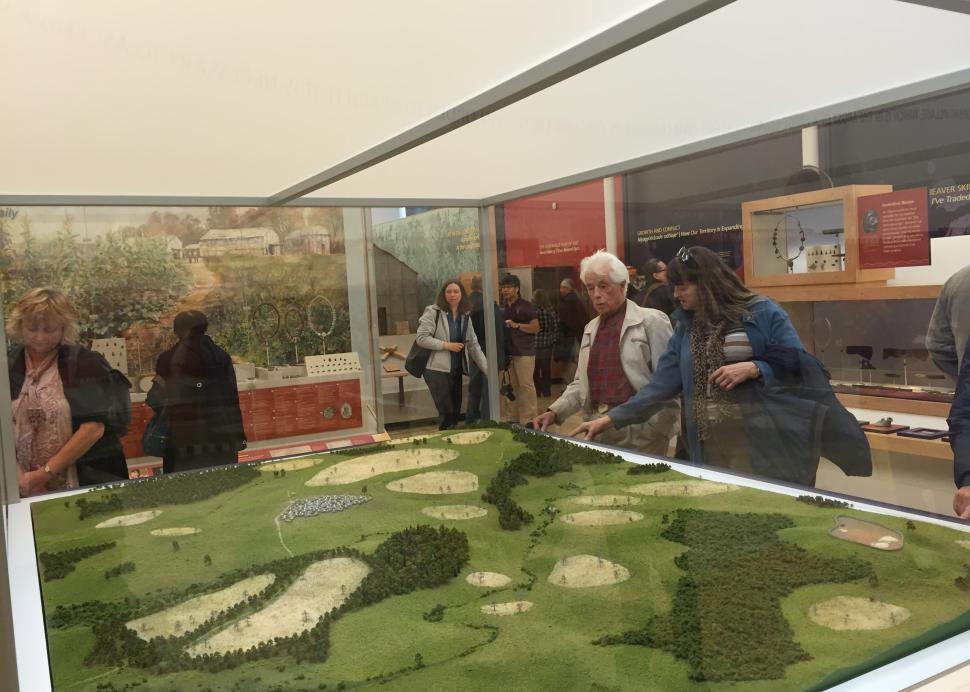 Exhibit at Seneca Art & Culture Center