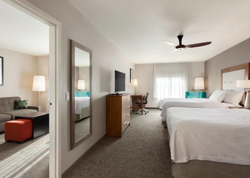 Homewood Suites 2 Queen Bed 1 Bedroom Suite