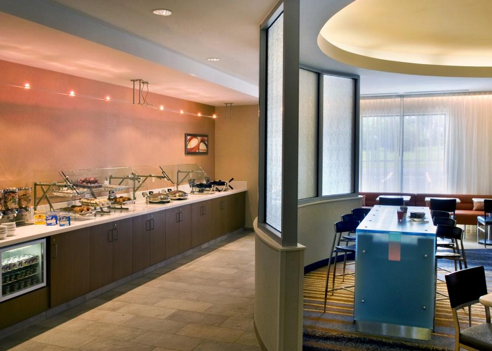 Enjoy our complimentary hot breakfast buffet daily