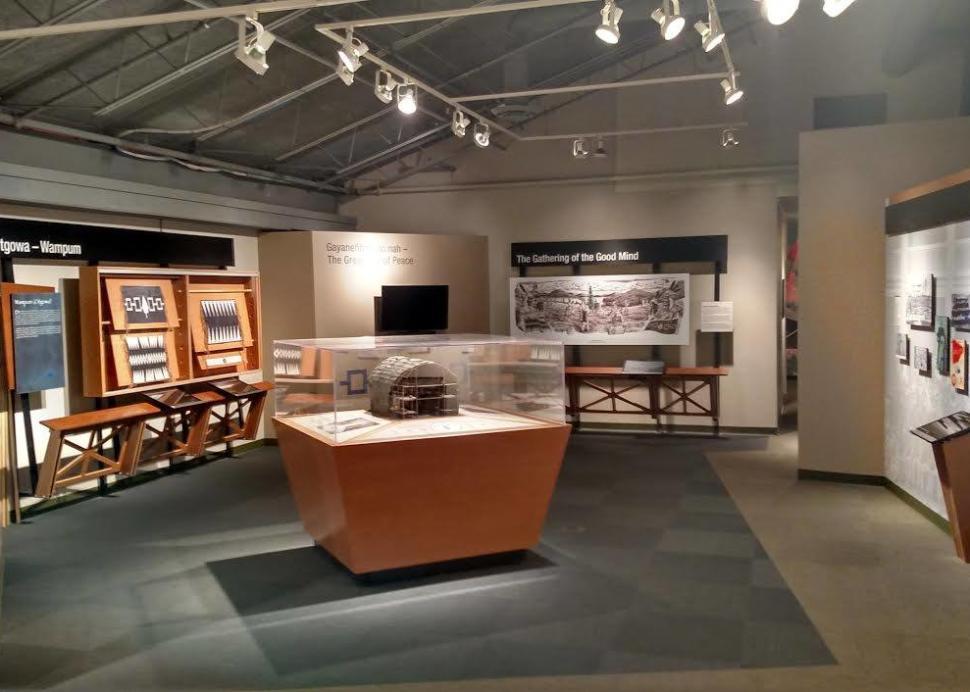 Skä•noñh - Great Law of Peace Exhibit, Photo Credit: Onondaga Historical Association