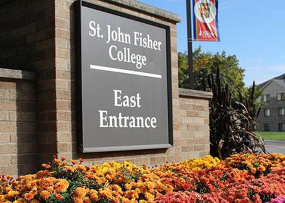 St. John Fisher Entrance