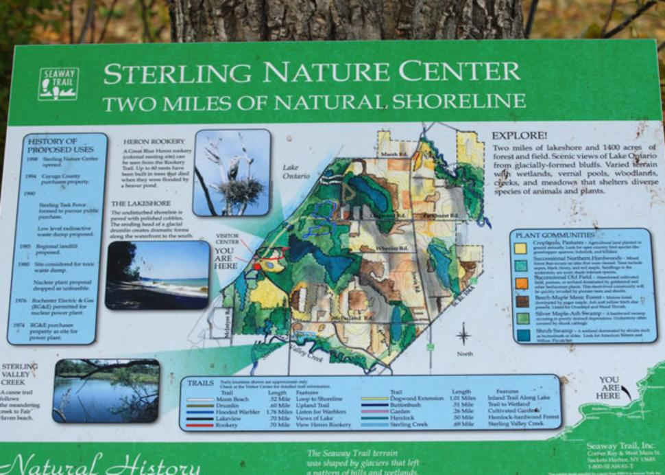 Sterling Nature Center Trails
