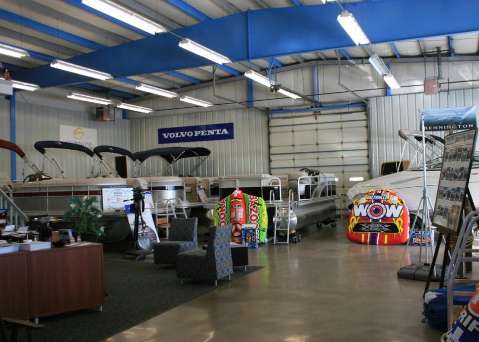Sutter's Canandaigua Marina Showroom