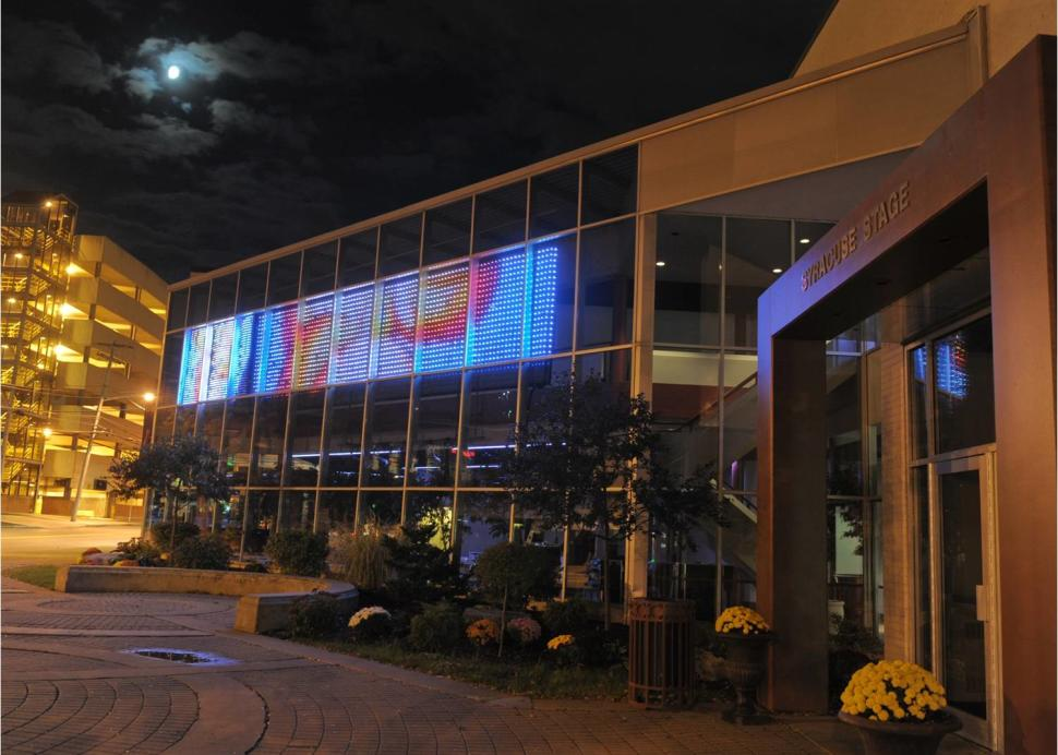 Syracuse Stage Exterior