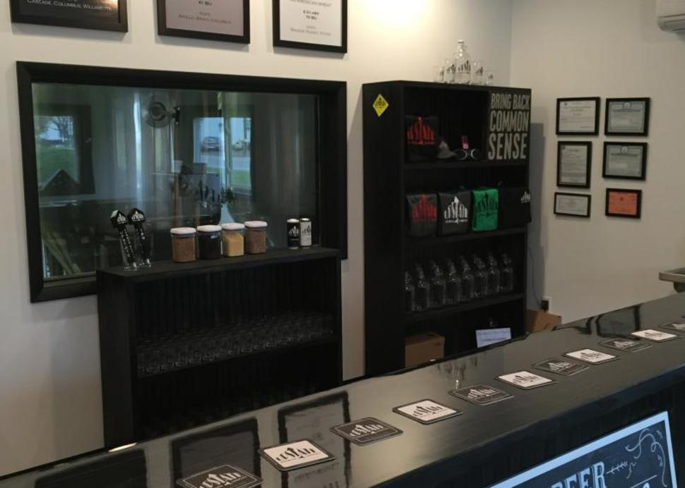 Tasting Room at Upstate Brewing Co.