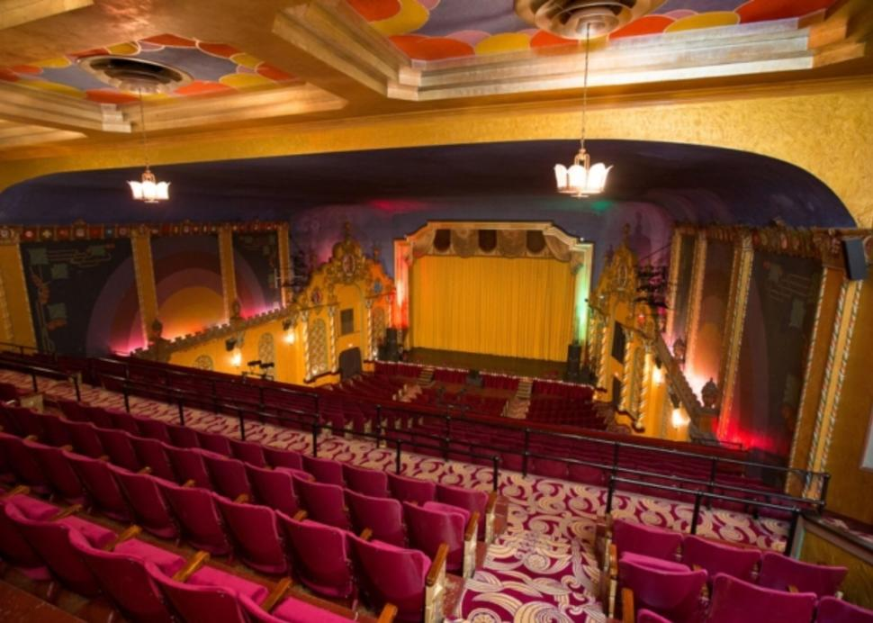 The Theater inside Smith Opera House
