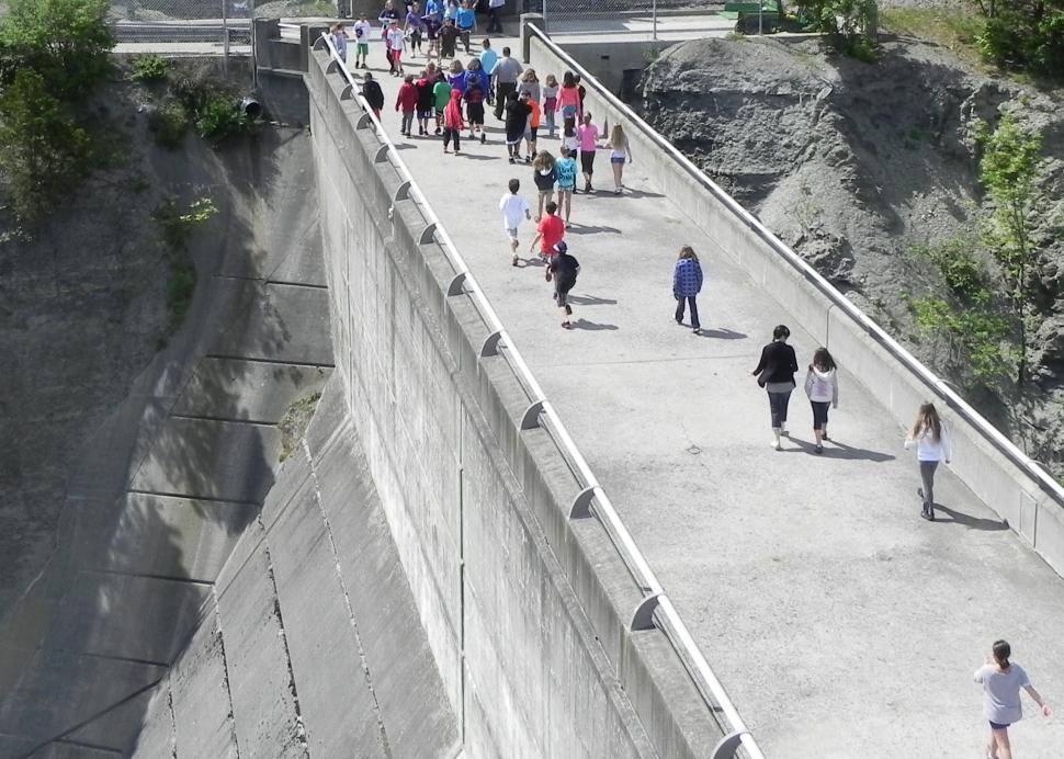 Top of Mount Morris Dam, photo credit: USACE