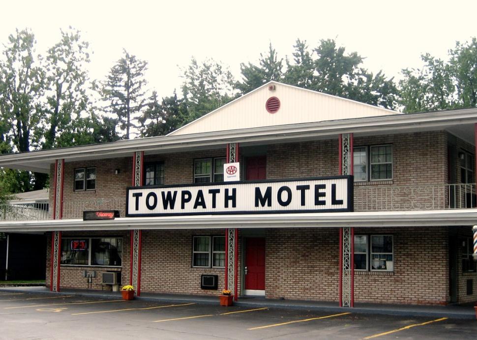 Towpath Motel in Brighton, NY