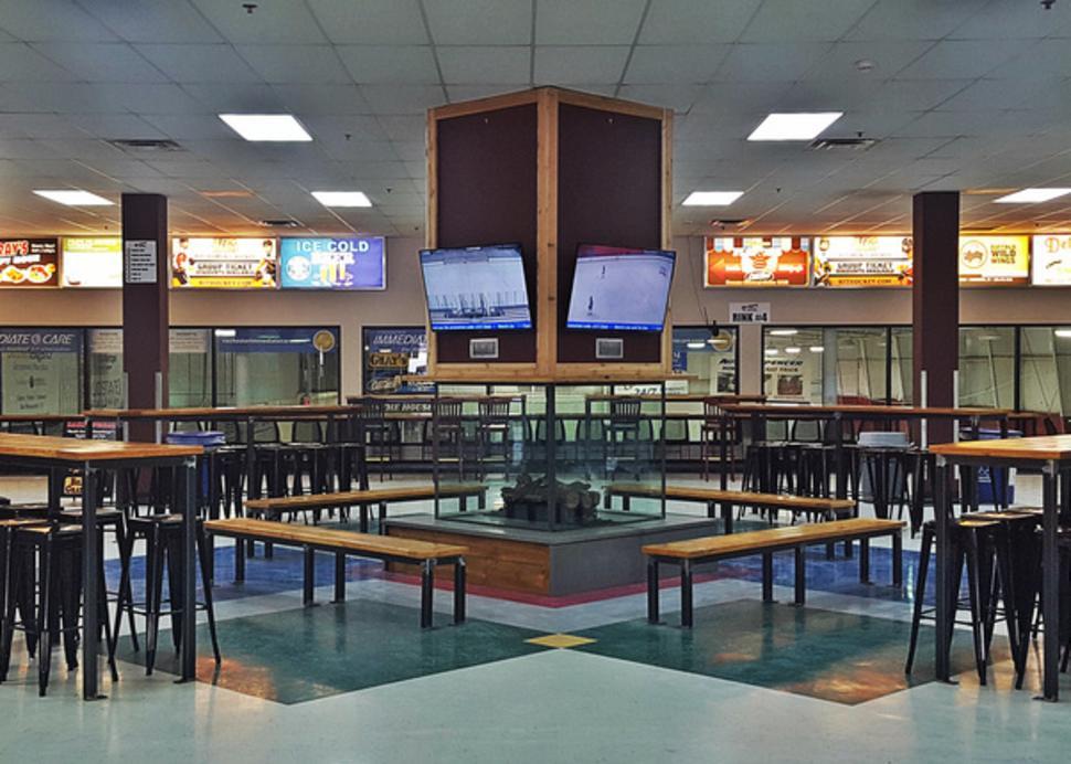 Upper Lobby Gathering Area