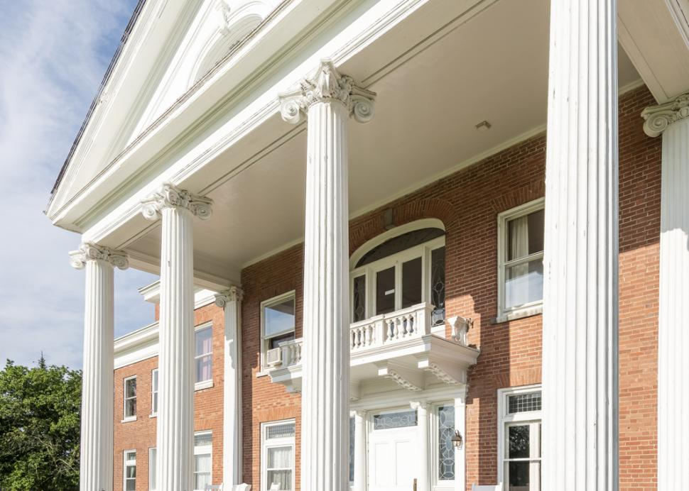 White Springs Manor porch