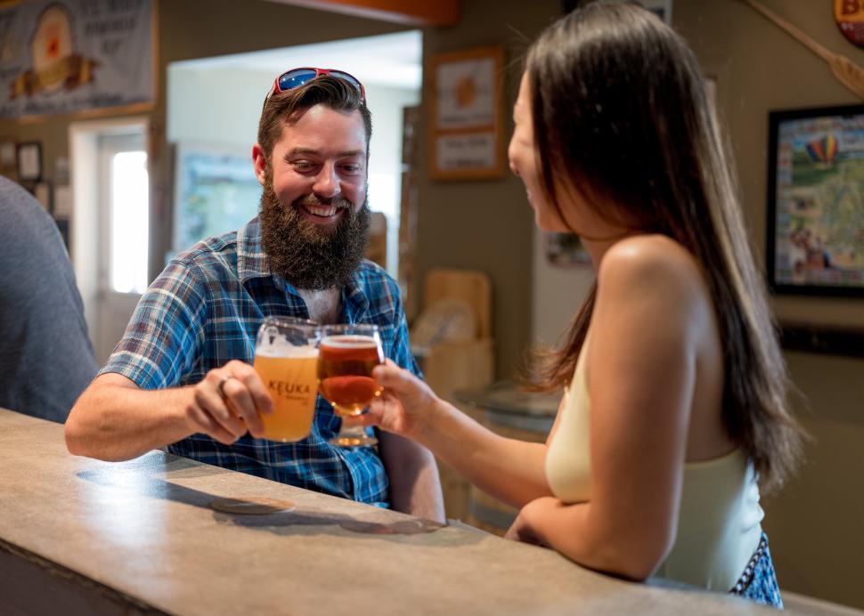 Keuka Brewing Tasting Bar