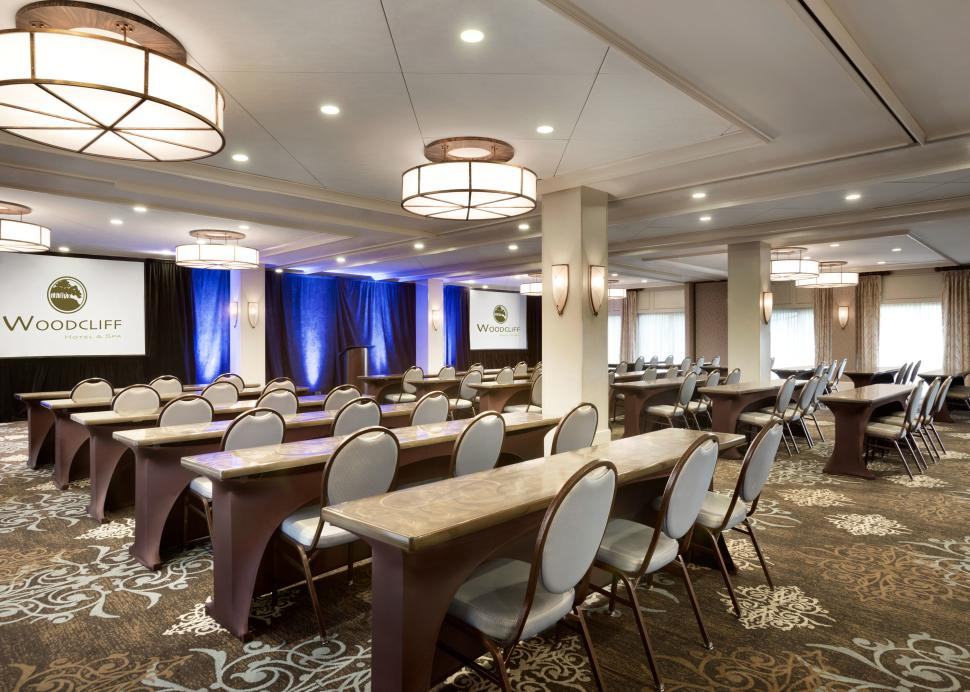 Woodcliff Hotel and Spa, Conference Room setup