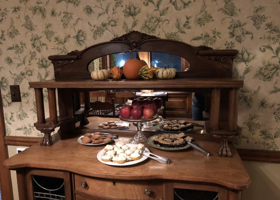 William Henry Miller Inn desserts