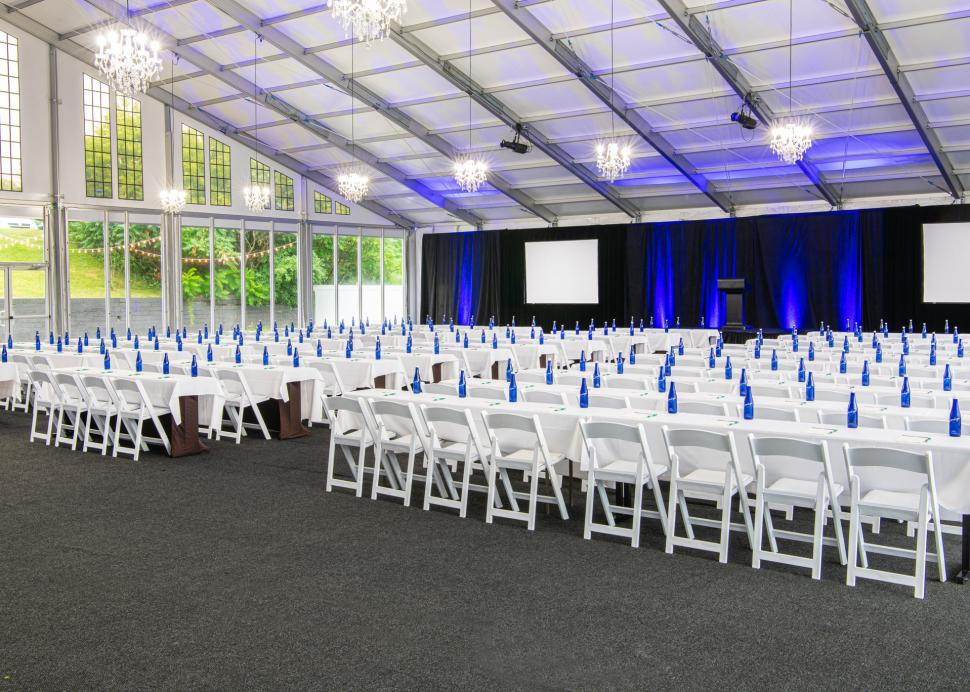 Woodcliff Hotel and Spa, Large event setup