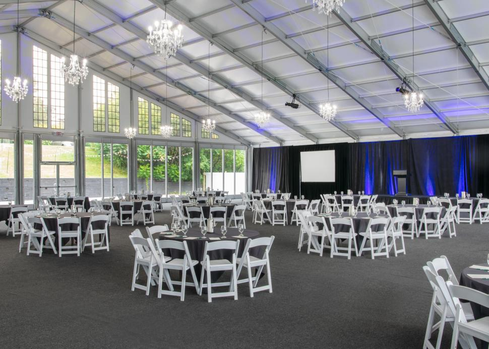 Woodcliff Hotel and Spa, alternate event setup