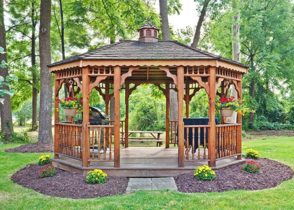 Outside Gazebo
