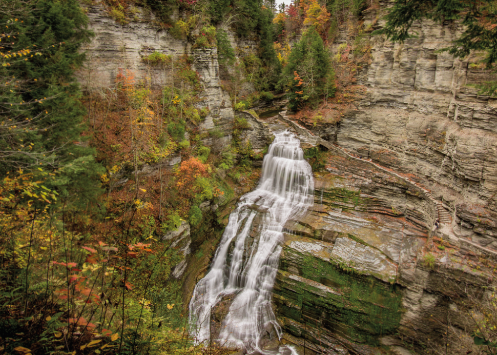 Lucifer Falls at Robert Treman by Brad Marzolf