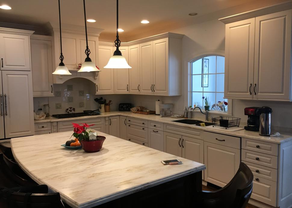 A photo inside the beautiful kitchen at Another World Bed and Breakfast