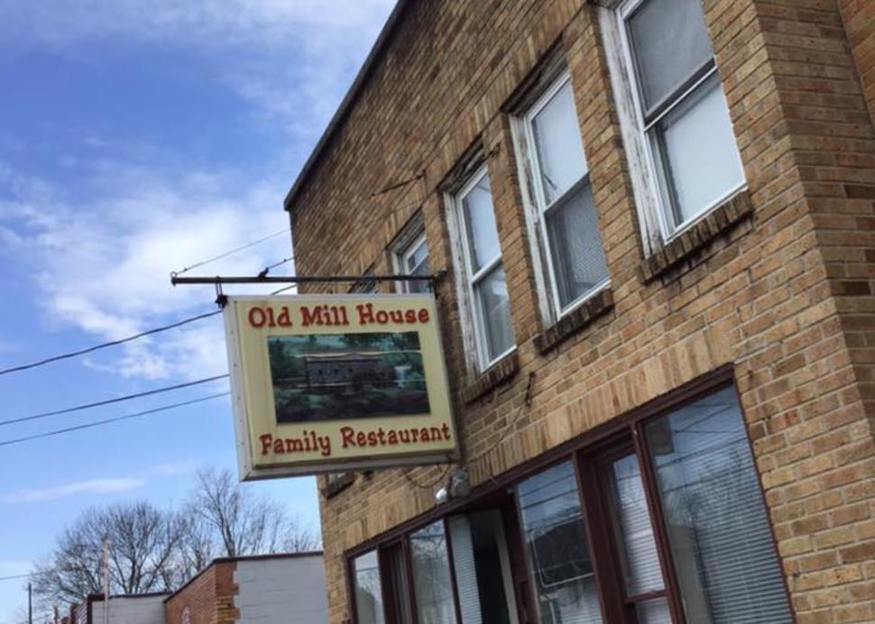 Old Mill Restaurant Main Entrance