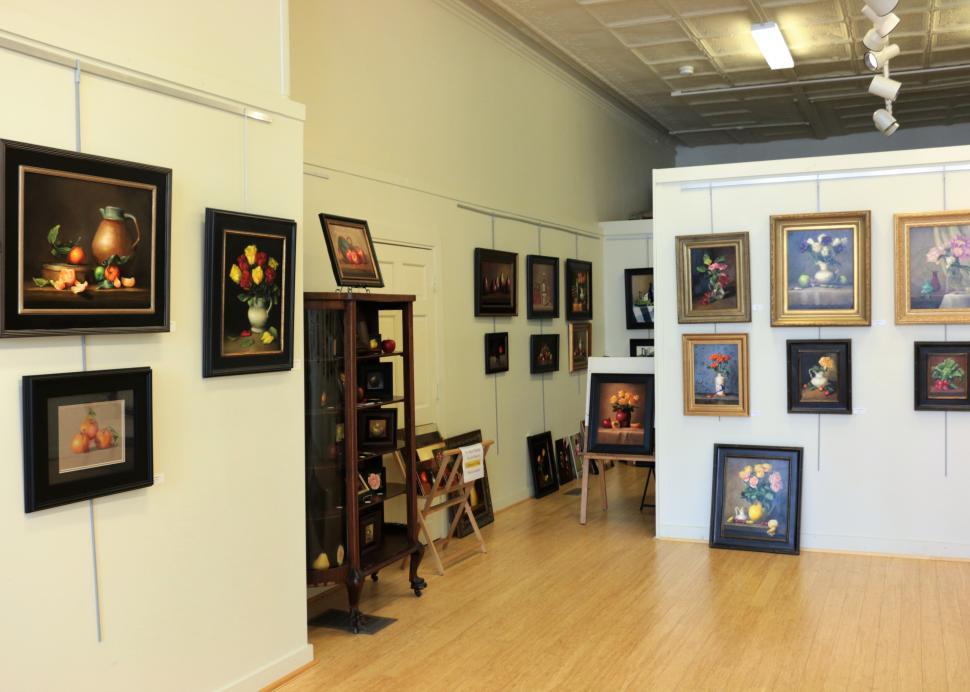 P. Tribastone Fine Art Gallery Interior