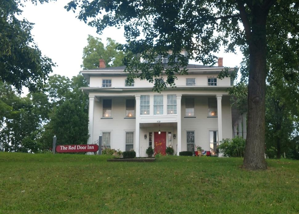 Exterior of The Red Door Inn B & B in Canandaigua