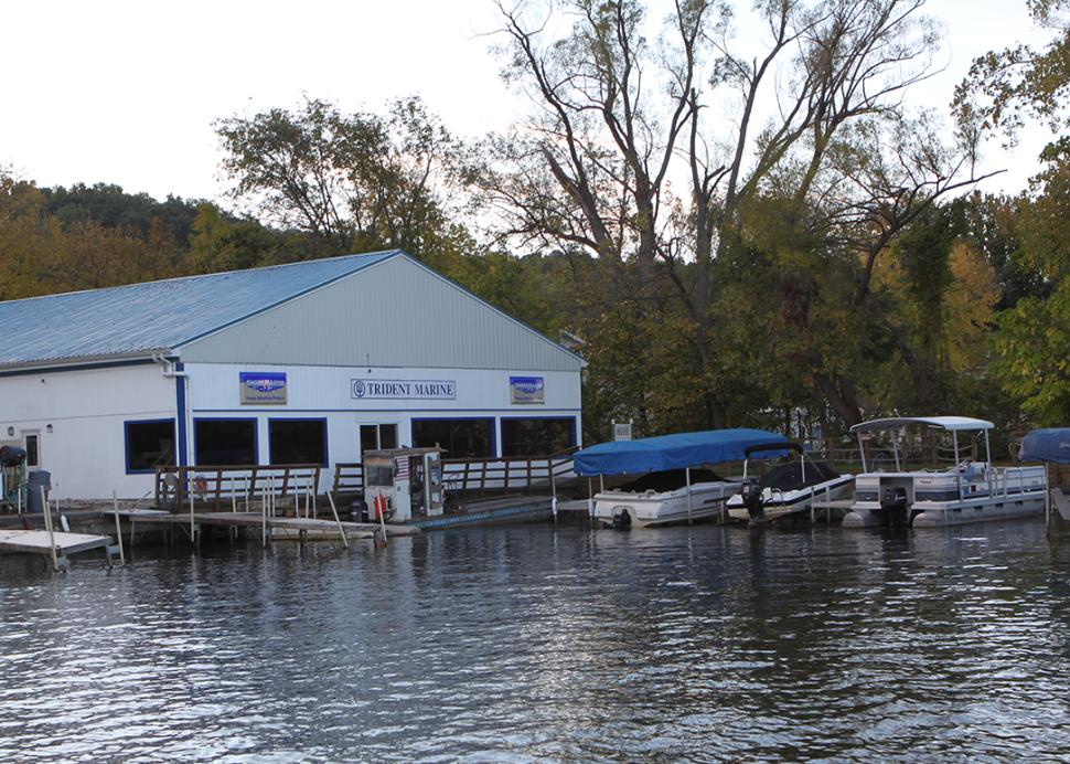 Exterior of Trident Marine in Honeoye