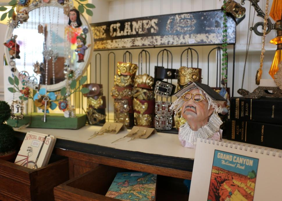 Items sit for sale inside of True Lily in Canandaigua
