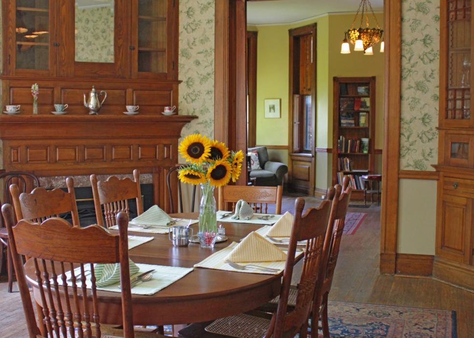 William Henry Miller Inn dining room