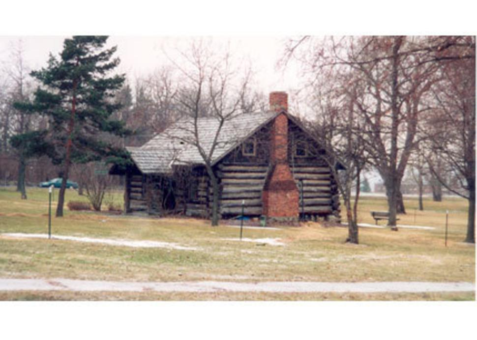 Log Cabin in Village Park